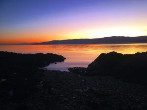 Self catering holiday flat Cove